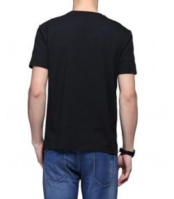 تی شرت مردانه مشکی جین وست