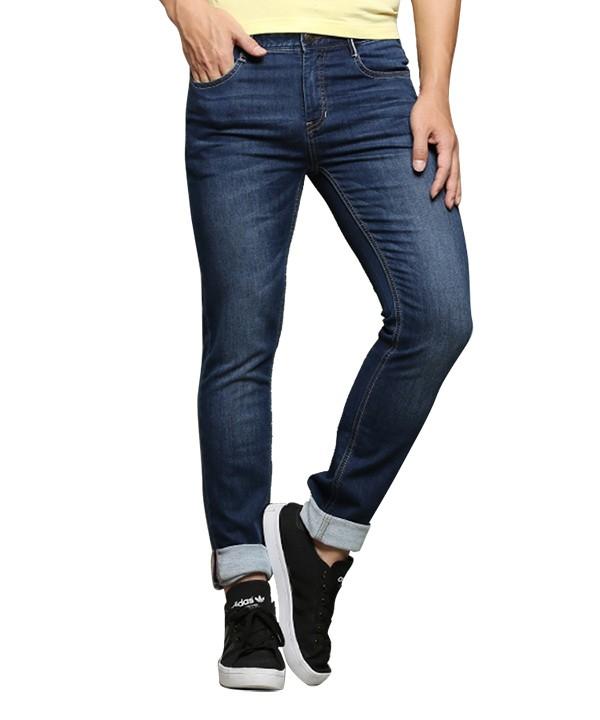 شلوارجین مردانه آبی جین وست