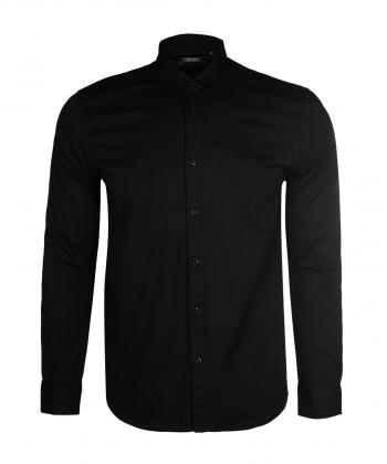 پیراهن مردانه مشکی جوتی جینز JootiJeans کد 02531924