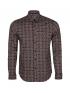 پیراهن آستین بلند مردانه طرحدار جوتی جینز JootiJeans کد 01531033