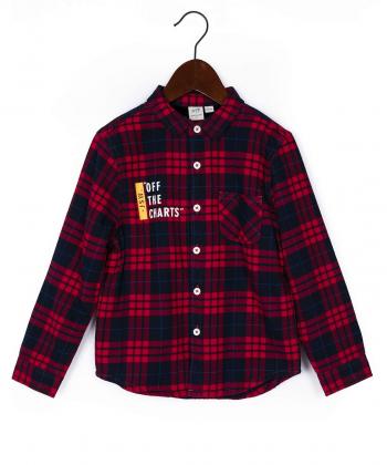 پیراهن آستین بلند پسرانه جین وست Jeanswest کد 94531801