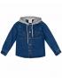 پیراهن جین کلاه دار پسرانه جوتی جینز JootiJeans کد 94031123