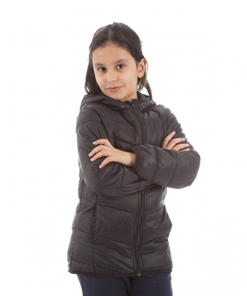 کاپشن دخترانه جین وست
