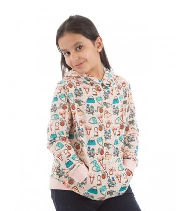 سویشرت دخترانه جلوبسته جین وست Jeanswest