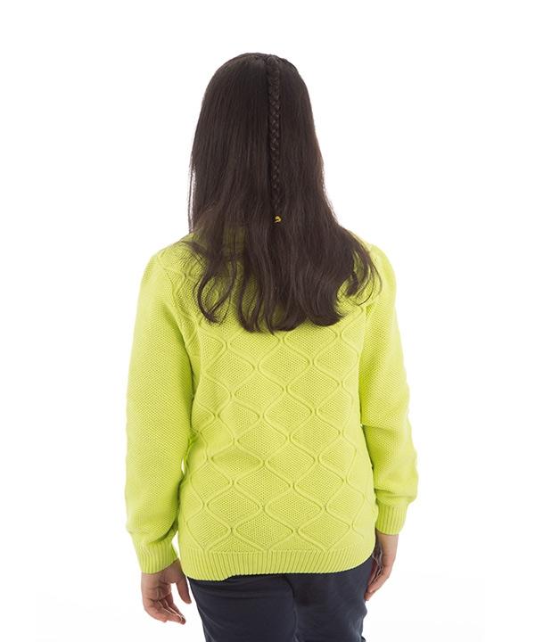 پلیور یقه گرد دخترانه جین وست Jeanswest