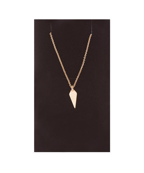 گردنبند طلا 18 عیار برند Freja مدل لوزی |