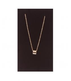 گردنبند طلا 18 عیار Freja مدل استوانه ای