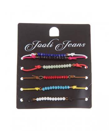 دستبند زنانه مهره ای جوتی جینز Jootijeans
