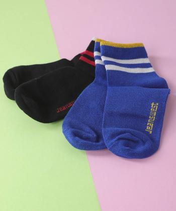 جوراب بچگانه جین وست Jeanswest کد 94912092 بسته 2 عددی