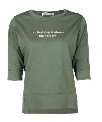 تیشرت یقه گرد زنانه جوتی جینز JootiJeans کد 01773129