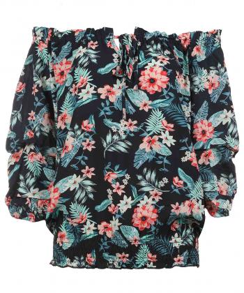 بلوز گل دار زنانه جوتی جینز JootiJeans کد 02732306