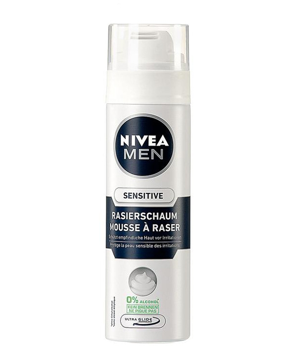 موس اصلاح مردانه نیوآ Sensitive 200ml | Nivea Sensitive 200ml Shaving Mousse