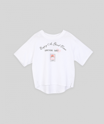 تیشرت یقه گرد دخترانه جین وست Jeanswest کد 01673546