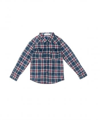 پیراهن آستین بلند پسرانه جین وست Jeanswest کد 01531998