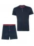 ست تیشرت و شلوارک راحتی مردانه جوتی جینز Jooti Jeans کد 01573A07