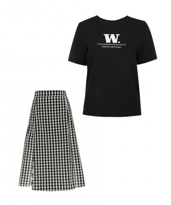 ست تیشرت و دامن زنانه جین وست Jeanswest کد 02241504