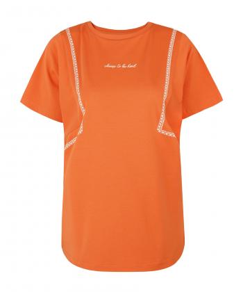 تیشرت طرح دار زنانه جوتی جینز JootiJeans کد 11773033
