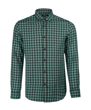 پیراهن چهارخانه مردانه جوتی جینز JootiJeans کد 11531057