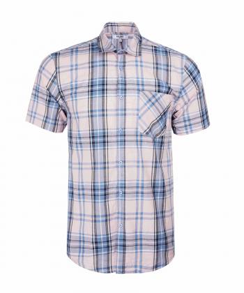 پیراهن چهارخانه مردانه جوتی جینز JootiJeans کد 04533102