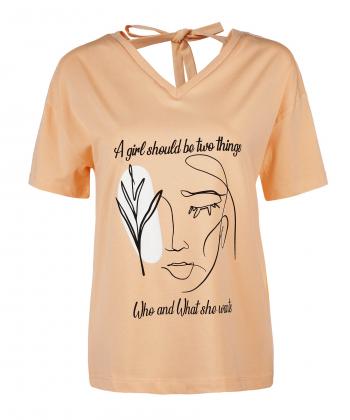 تیشرت نخی زنانه جوتی جینز JootiJeans کد 11773021