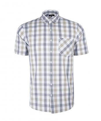 پیراهن چهارخانه مردانه جوتی جینز JootiJeans کد 12533194