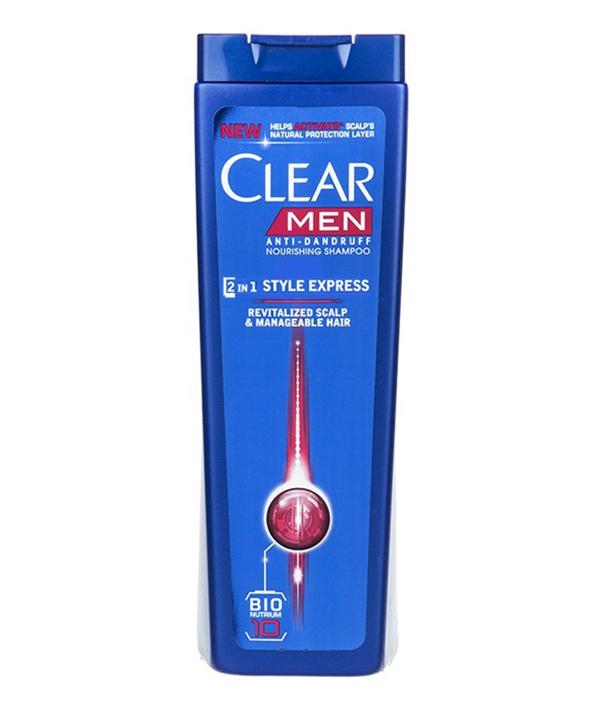 شامپو ضد شوره مردانه کلیر مدل Style Express 2 In1  حجم 400 میلی لیتر | Clear Style Express 2 in1 Anti Dandruff Shampoo For Men 400ml