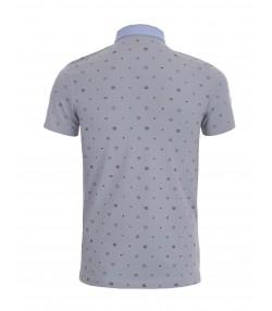 پلو شرت آستین کوتاه مردانه جین وست