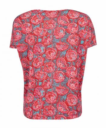 تیشرت طرح دار زنانه جوتی جینز JootiJeans کد 11773016