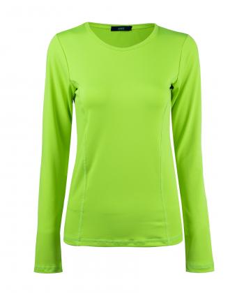 بلوز آستین حلقه ای زنانه سبز