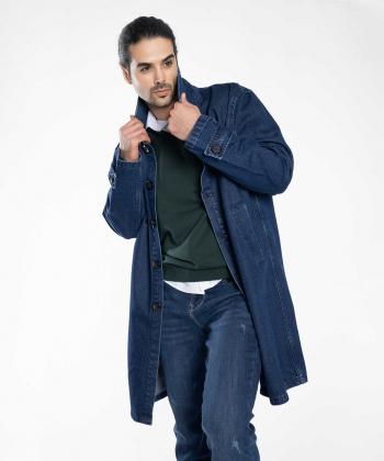 کت بلند جین مردانه جوتی جینز JootiJeans کد 04522602