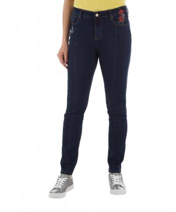 شلوار جین زنانه آبی تیره جین وست Jeanswest