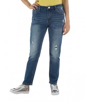شلوار جین زنانه راسته زاپ دار جین وست Jeanswest