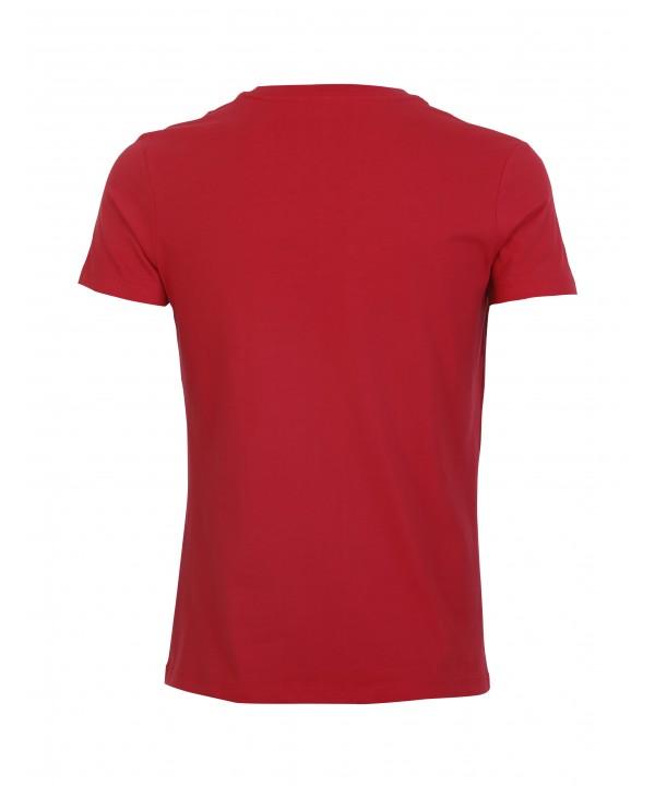 تیشرت قرمز مردانه