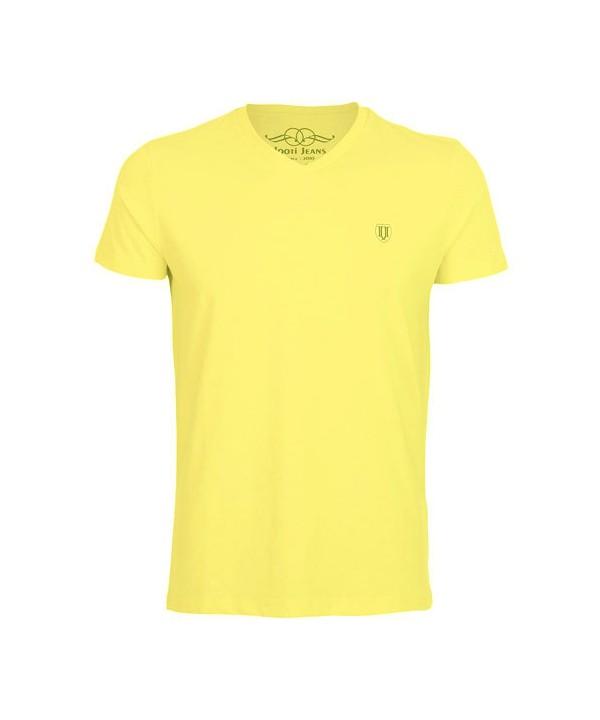 تیشرت زرد مردانه