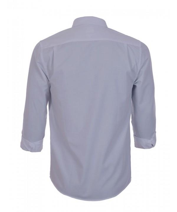 پیراهن مردانه آستین بلند طوسی