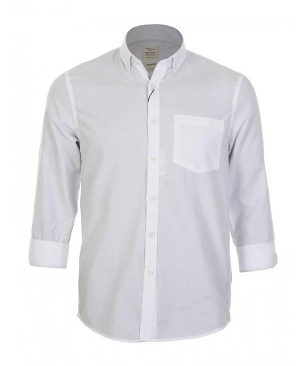 پیراهن مردانه آستین بلند سفید