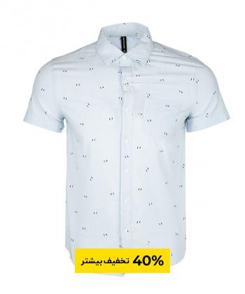 پیراهن مردانه طرح دار جین وست Jeanswest