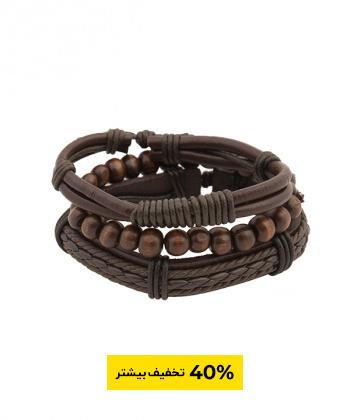 دستبند مردانه چرمی جوتی جینز Jootijeans