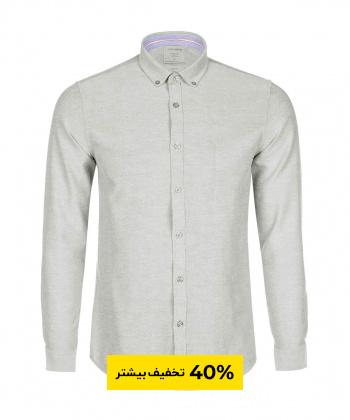 پیراهن آستین بلند ساده مردانه جوتی جینز Jootijeans