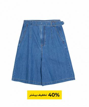 شلوارک زنانه جین جین وست Jeanswest مدل 92263505