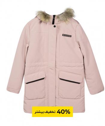 کاپشن زنانه خزدار جین وست Jeanswest مدل 94223504
