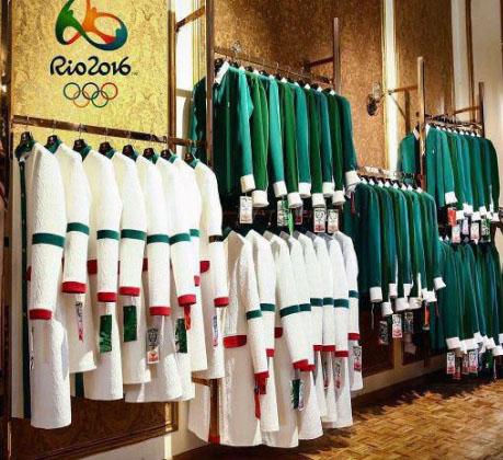 لباس کاروان المپیک ایران