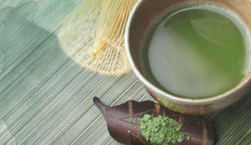 چای سبز پوست زیبایی
