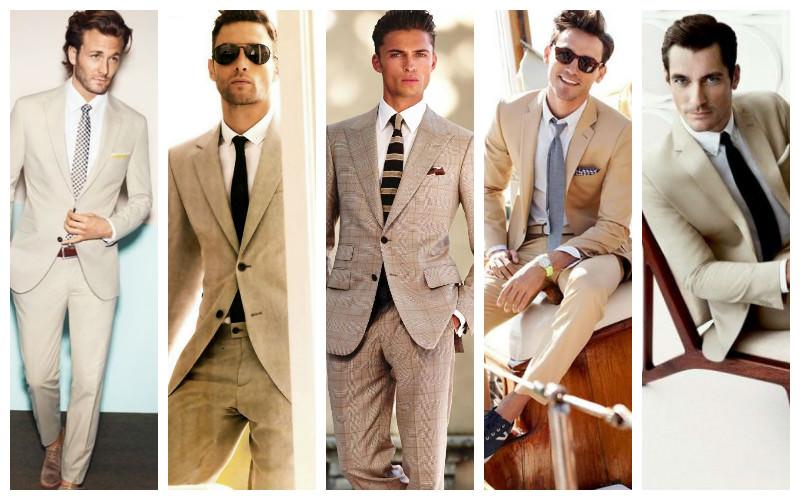 ست کردن لباس مردانه