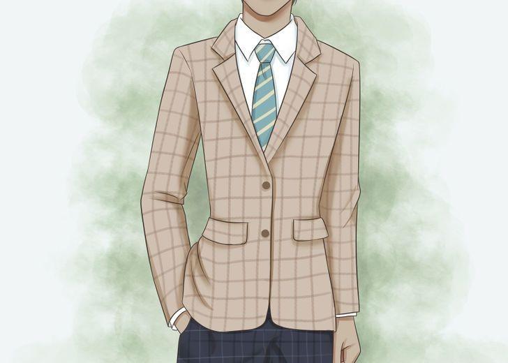 نکات لباس پوشیدن مردان بلند قد