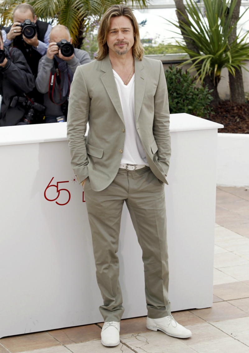 brad-pitt-white-shoes-white-shoes-with-a-suit-mens-street-style
