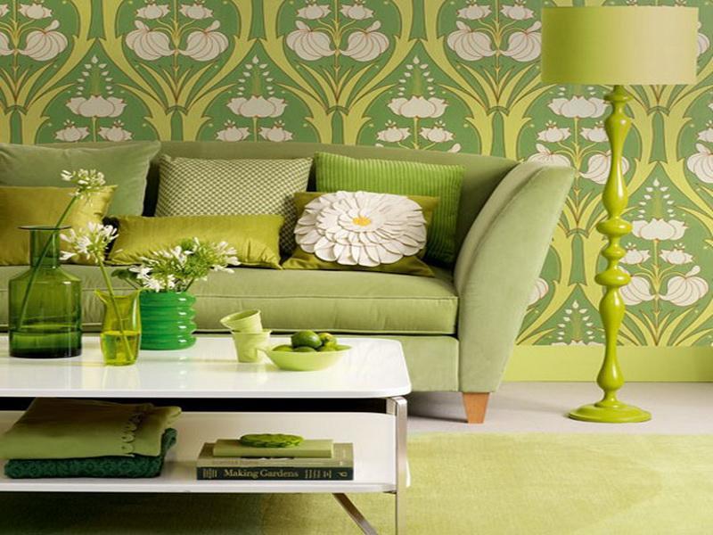 Green-Small-Living-Room-Ideas-Decoration