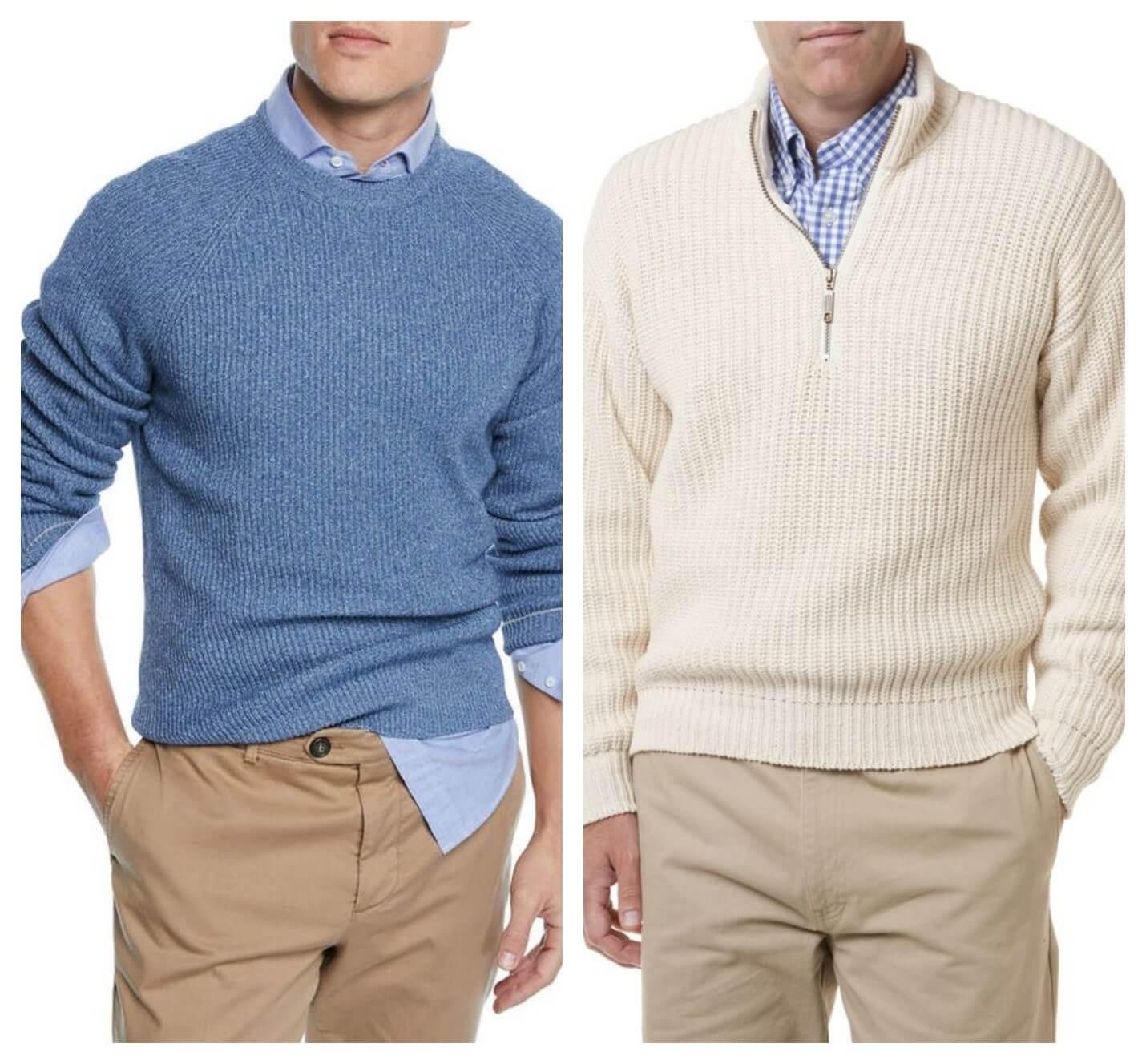 سویشرت و پیراهن مردانه