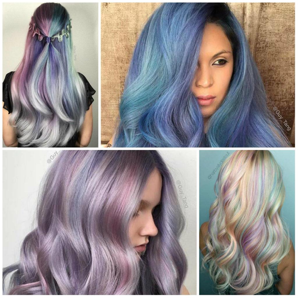رنگ موهای سال 2017