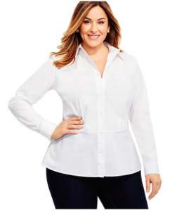 لباس مناسب برای خانم هایی که اضافه وزن دارند